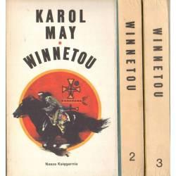 WINNETOU - 3 TOMY - KAROL MAY