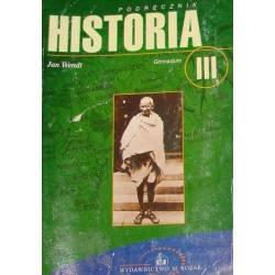 WENDT HISTORIA III...