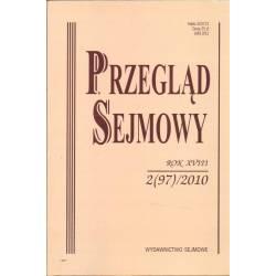 PRZEGLĄD SEJMOWY - 2(97)/2010