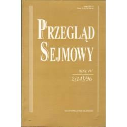 PRZEGLĄD SEJMOWY - 2(14)/1996
