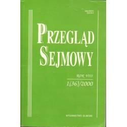 PRZEGLĄD SEJMOWY - 1(36)/2000