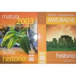 CIEJKA HISTORIA MATURA 2003...