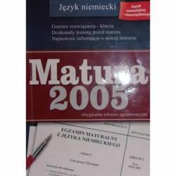 MATURA 2005 JĘZYK NIEMIECKI...
