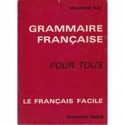 GRAMMAIRE FRANCAISE -...