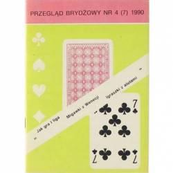 PRZEGLĄD BRYDŻOWY - 4 (7) 1990