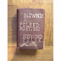 SŁOWNIK POLSKO - ROSYJSKI...