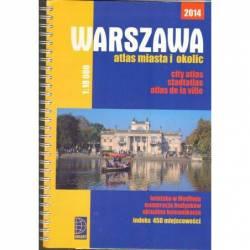WARSZAWA ATLAS MIASTA I...