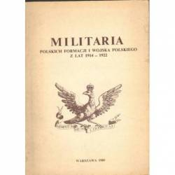 MILITARIA POLSKICH FORMACJI...