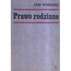 PRAWO RODZINNE - JAN WINIARZ