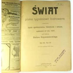 ŚWIAT - ROK VIII, TOM XV, I...