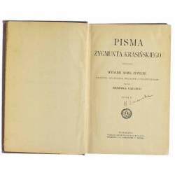 PISMA ZYGMUNTA KRASIŃSKIEGO...
