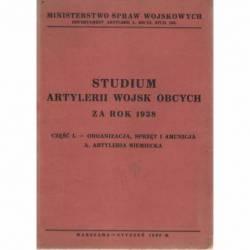 STUDIUM ARTYLERII WOJSK...