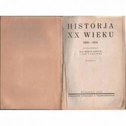 HISTORJA XX WIEKU 1900-1934...