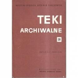TEKI ARCHIWALNE - 20 -...