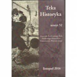 TEKA HISTORYKA - ZESZYT 52...