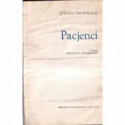 PACJENCI - JURGEN THORWALD