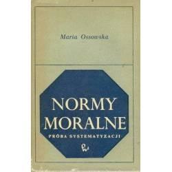 NORMY MORALNE - MARIA OSSOWSKA