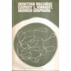 GENETYKA ROZWOJU - MARKERT,...