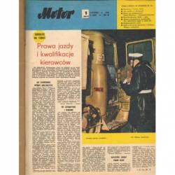 MOTOR 1971 - ROCZNIK OPRAWIONY