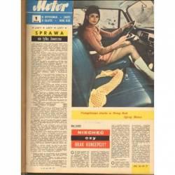 MOTOR 1972 - ROCZNIK OPRAWIONY