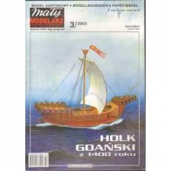 HOLK GDAŃSKI Z 1400 ROKU -...