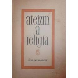 ATEIZM A RELIGIA CYKL WYKŁADÓW