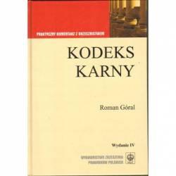 KODEKS KARNY - WYD. IV -...